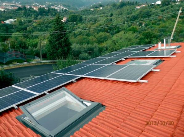 Impianto installato da Ecosolare